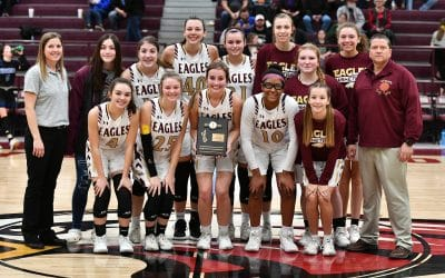 Lady Eagles Defense Leads to District 8 Title.