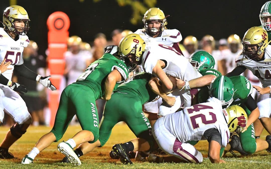 Eagles Slow Start Gives Pirates a District Win